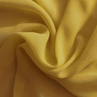 Wholesale Solid Dyed Crepe Silk Georgette Fabric 8mm 114cm Factory Supplied Many Colors in Stcok