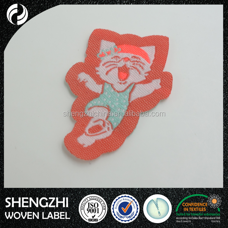 Quality different shape personalized cheap custom patches