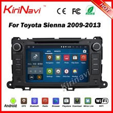 Kirinavi WC-TS8216 android 5.1 car radio navigation for toyota sienna 2009-2013 android car dvd multimeida WIFI 3G BT SW