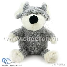 Stuffed Grey Mouse Toy