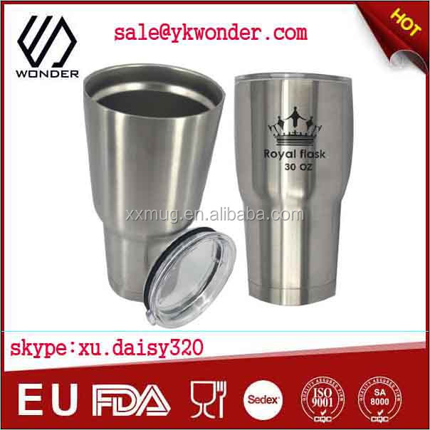 double wall tumbler stainless steel tumbler 30 oz/20oz