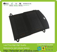 hot sell 7W bag pack solar power charger for iPhone 6 and iPad