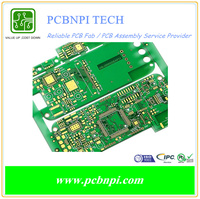 Prototype / Low Volume Turn-Key PCB Assembly Service Lead Free HASL Process PCB fabrication with High Quality