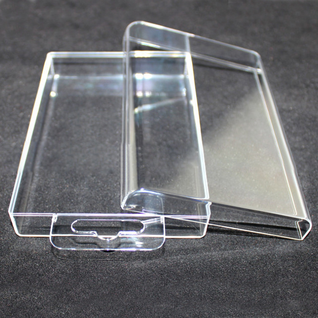 China Supplier Transparent crystal plastic packaging box for electronic, clear plastic box