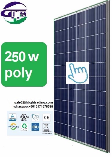 Perlight Hot Seller High Efficency Grade A Poly 250W 260W 270W 280W Solar Panel and Battery with Whole Inmetro Certificates