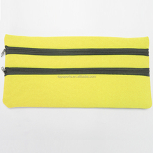 OEM zipper Lock Pencil Bag designer pencil case bags