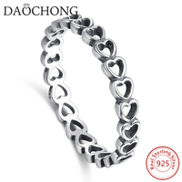 fashion jewelry 925 sterling silver love symbol infinity ring