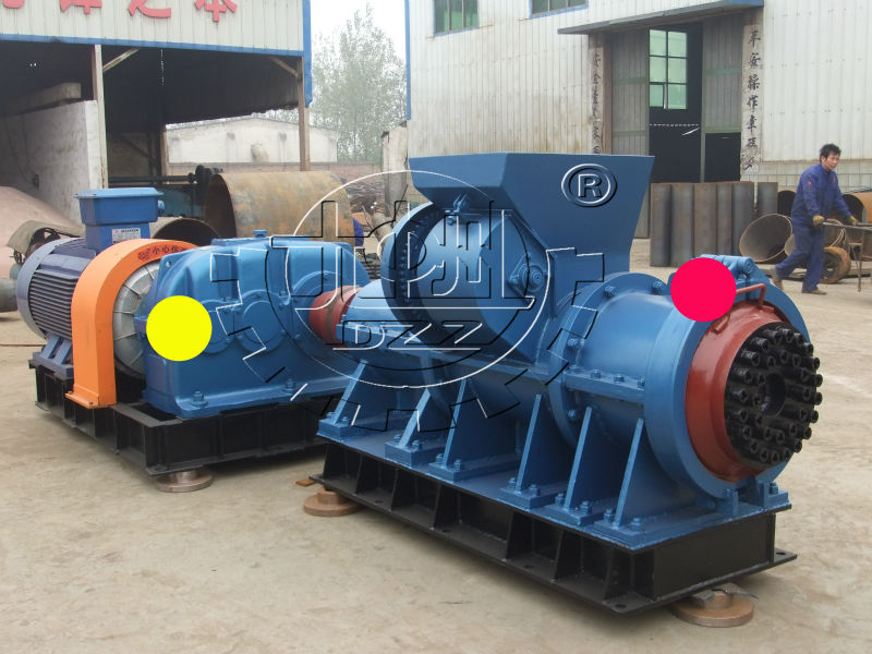 High Quality 65mm Extruder Type Charcoal Coal Stick Press Machine