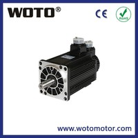 220V 110 series 1.5kW 6N.m 2500RPM AC servo motor and driver system