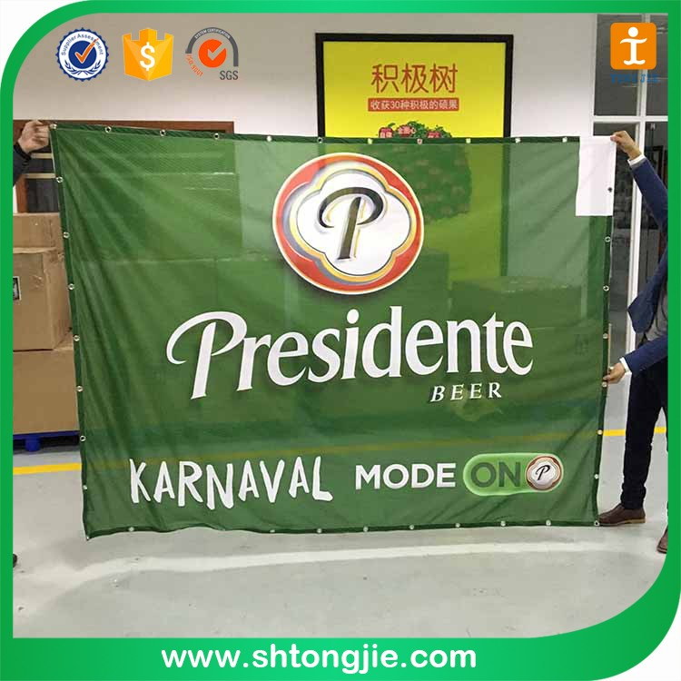 TJ-XY-2018 Factory Price for Polyester Hanging /Digital printing fabric flag Banner/Advertising custom flag gifts