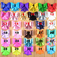 wholesale Sparkle sequin butterfly bow winter headbands