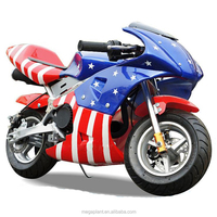 Mini Pocket Bike 49cc Engine 110cc 150cc Motorcycle Mini Moto Pocket Bike