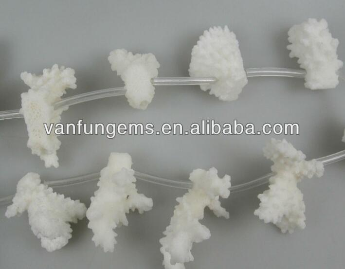 wholesale White natural coral beads natural
