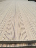 natural veneer/recon veneer/melamine paper face laminated mdf boards