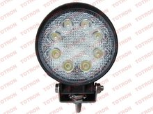 2012 top selling 24W round auto lamp for all aotomotive vehicles super quality one year gurantee