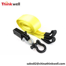 Recovery Kit D Ring Receiver Hitch with Tow Strap