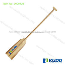 Kudo IDBF carbon fiber timber wood dragon boat paddle with T-grip