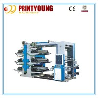 YT-6600 High speed 6 colors flexo printing machines