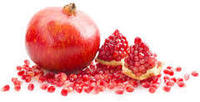 food ingredient pomegranate fruit powder