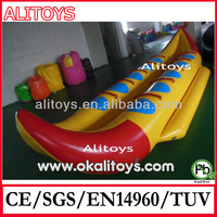 inflatable water toys inflatable 5 person banana boat for fun