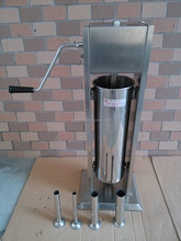 Factory price 5L manual vertical sausage filler / hand meat stuffer