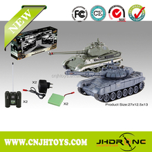 New arriving! Auto-show 2.4GHZ boy toys army tiger rc shooting tank model