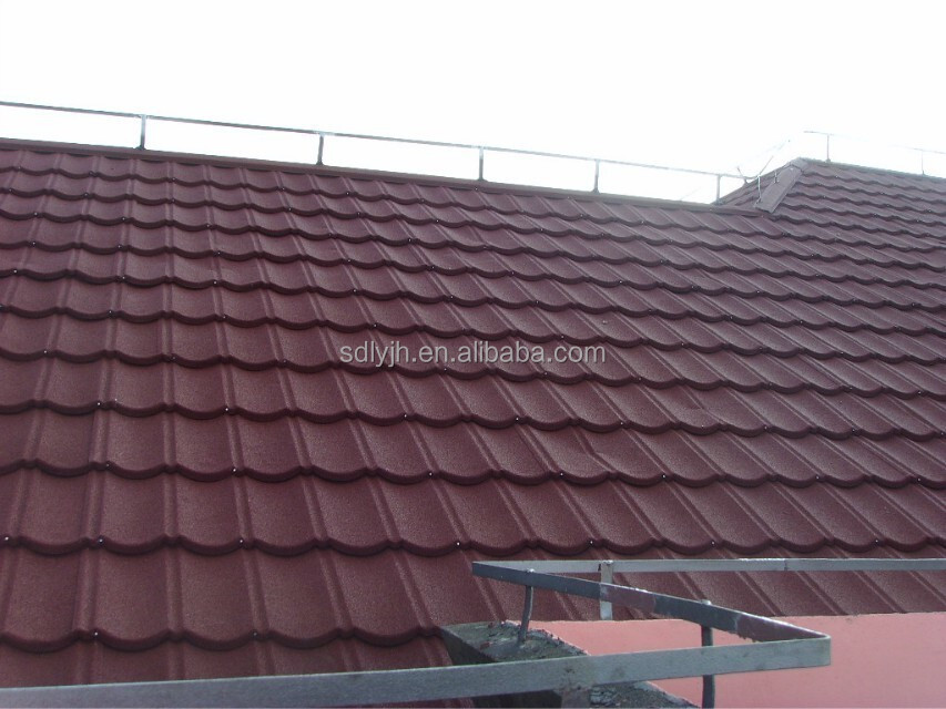 Construction Materials roof panels stone coated metal roof tile