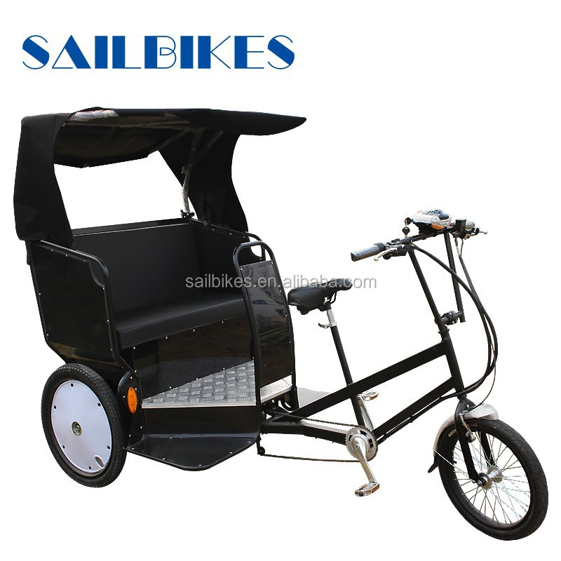 street business trikes battery operated tricycle rickshaw