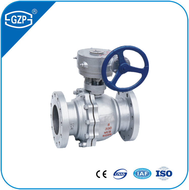 ANSI Class 150# 300# 600# Pressure Floating Ball Valve For Waste Dirty Water System