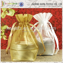Wholesale cosmetic bottle organza bag directly from factory