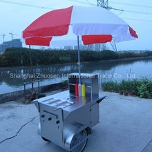 Outdoor Mobile Gyoza & Lindt Chocolate & Twinkies Food Cart Trailer with Wheels ZS-HT100 A