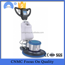 Hand drive multi function floor cleaning machine