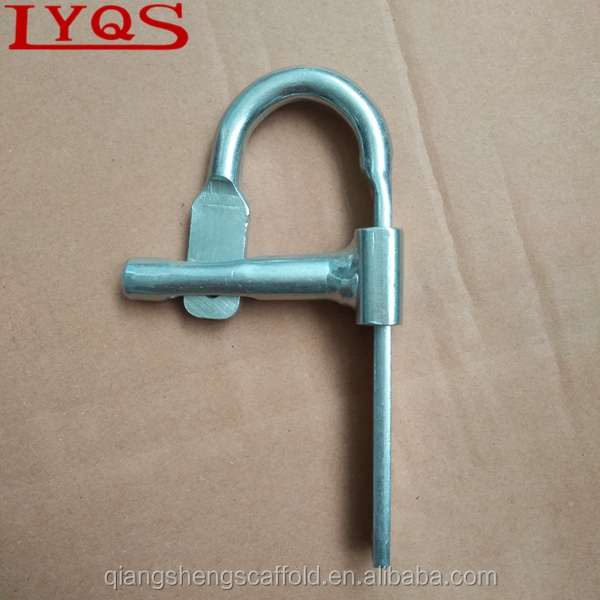 Scaffolding lock pin types gravity pinS for frame scaffolding brace connecting
