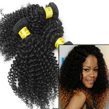 China-wholesale grade virgin weaving 100% human hair,grade quality wholesale virgin brazilian kinky curl hair