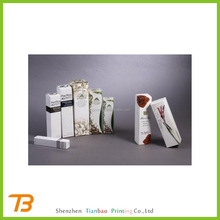 Luxury custom paper gift set cosmetic box , cosmetic packaging boxes