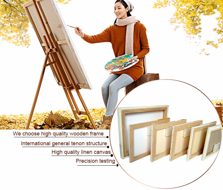 fast delivery cheap blank stretched canvas