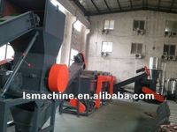plastic waste Washing, Crushing, Drying and Recycling machine