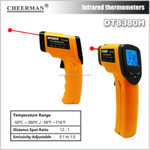 infrared with LCD display DT8380H Amazon hot sell digital IR thermometer