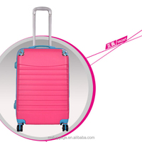 China Supplier Abs Pc Luggage Trolley