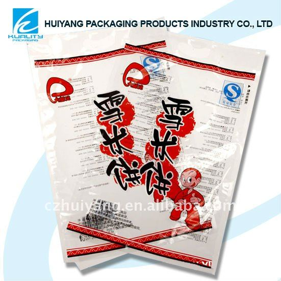 Nylon food retort pouch bag for frozen seafood packaging