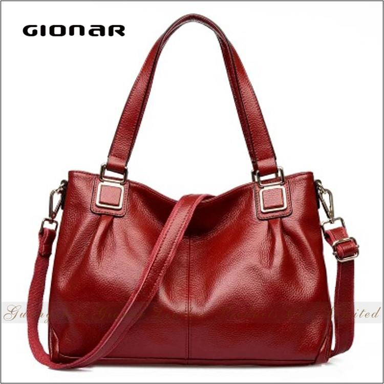 wholesale Online Shopping OEM elegance Ladies fashion leather handbags made in china