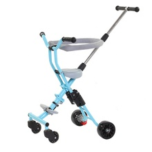 High quality cheap price baby stroller steel material baby walker 3 in 1 with handrail