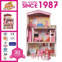 Educational Toys Wooden Barbie Doll House