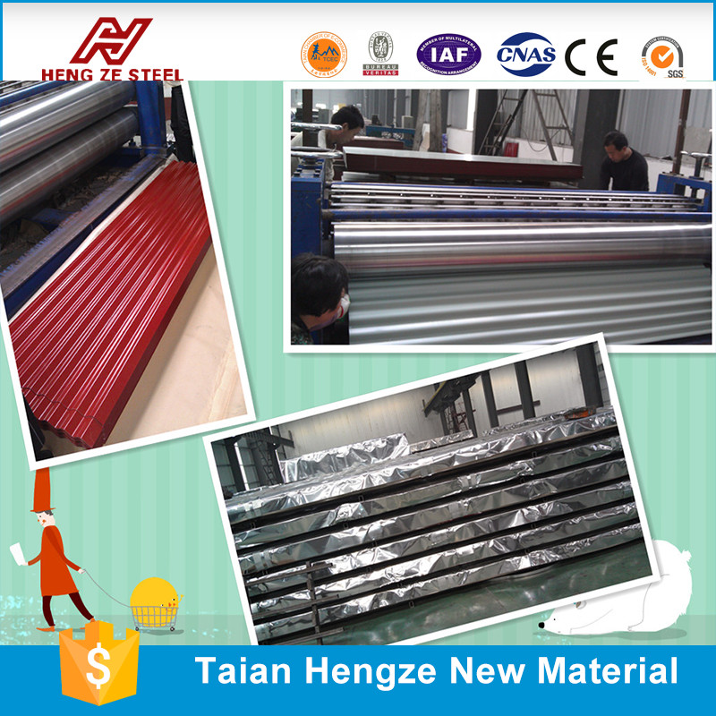 prepainted galvanized roofing sheet & steel coil