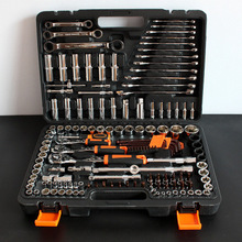 Auto repairing 121pcs tool set wrench socket ratchet spanner tool box