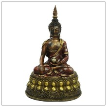 Antique finish statue resin indoor buddha for sale.