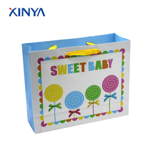 Custom Made Promotional Cheap High Quality Small Coated Paper Bags