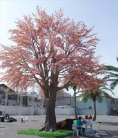 decorative artificial big flowering cherry tree/camouflaged tree