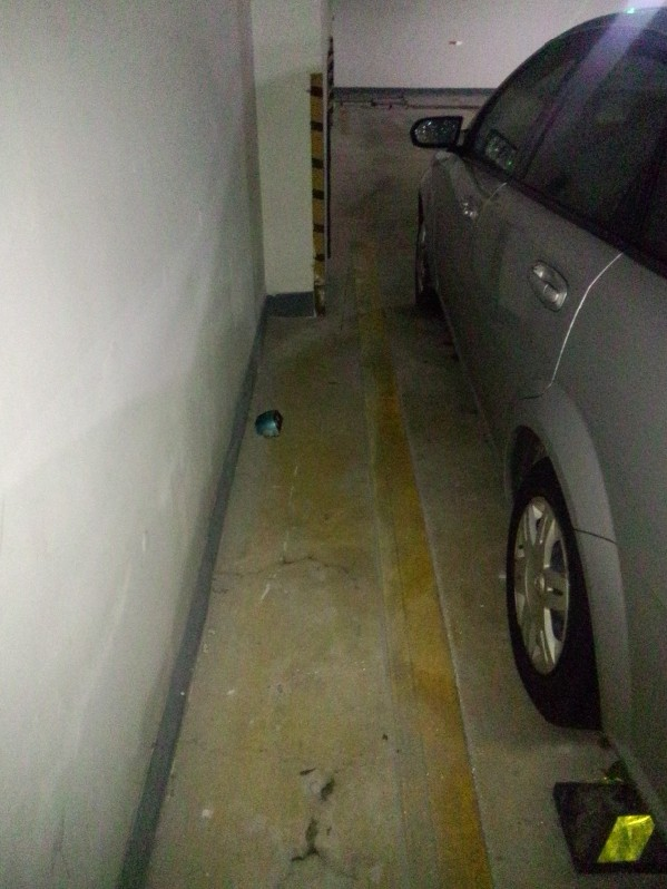 Floor Mounted Wireless ultrasonic sensor for Outdoor Carpark