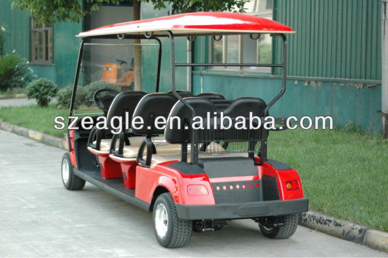 prix tr s attrayant voiture de golf lectrique avec 6 si ges made par aigle chariot de golf id. Black Bedroom Furniture Sets. Home Design Ideas